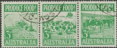 SG 255a ACSC 287d. Produce Food - 3d Food strip (AE1/463)